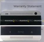 HTC one - Top & bottom