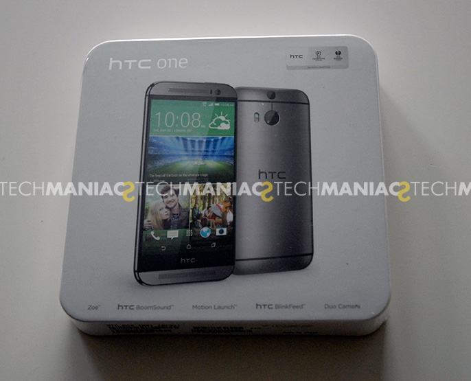 HTC one M8: Box Front